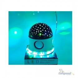 Luminária Projetor Estrela C/ caixa de som Bluetooth